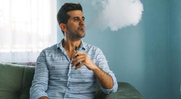 Man now a vaper not a smoker